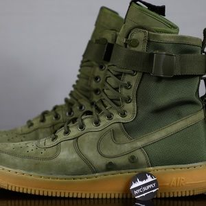 Nike SF AF1 Special Field Air Force 1 Olive Green